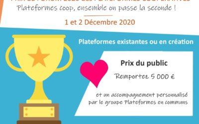 CoopCircuits gagne le prix MAIF du Forum des Plateformes Coopératives